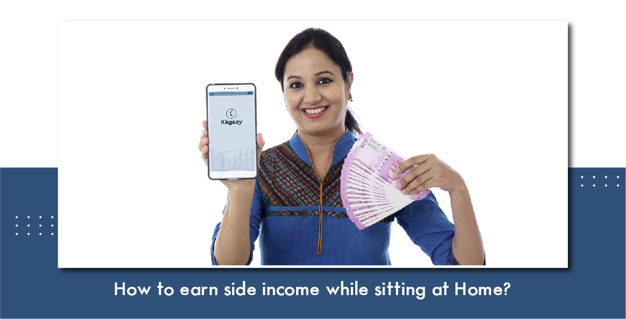 how to earn side income while sitting at home?